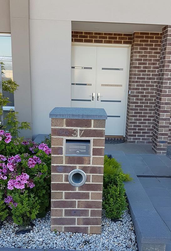 Brick Letterbox